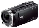 Sony HDR-CX450, noir