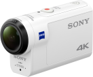 SONY FDR-X3000R - Actioncam - 4K - bianco