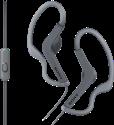 SONY AS210AP - Sport Kopfhörer - Spritzwassergeschützt - Schwarz
