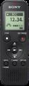 SONY ICD-PX370 - Diktiergerät - 4 GB Speicher - Schwarz