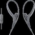 SONY AS410AP - Sport Kopfhörer - mit Mikrofon - schwarz