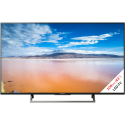 Sony KD-43XE8005 - LCD/LED-TV - 43 - 4K - HDR - Smart TV - Schwarz/Silber