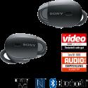 SONY WF-1000XB - Cuffie auricolari wireless - Noise Cancelling [Annullamento rumori] - Nero