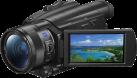 SONY FDR-AX700 - Caméscope - Qualité des films 4K HDR - Noir