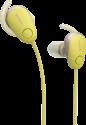 SONY WI-SP600N - Cuffie In-Ear - A eliminazione del rumore - Giallo