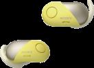SONY WF-SP700N - Cuffie In-Ear - A eliminazione del rumore - Giallo