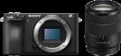 SONY α6500 - Spiegellose Systemkamera - Body + Objektiv (E 18-135mm F3.5-5.6 OSS) - Schwarz