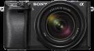 SONY α6300 - Spiegellose Systemkamera - Body + Objektiv (E 18-135mm F3.5-5.6 OSS) - Schwarz