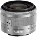 Canon EF-M, 15 mm - 45 mm, f/3.5-6.3 IS STM, argento