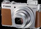 Canon PowerShot G9 X - Kompaktkamera - 20.2 MP - Silber