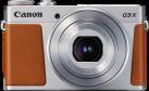 Canon PowerShot G9 X Mark II - Kompaktkamera - 20.1 MP - Silber/Braun
