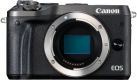 Canon EOS M6 Body - Systemkamera - 24.2 MP - Schwarz