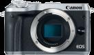 Canon EOS M6 Body - Systemkamera - 24.2 MP - Silber