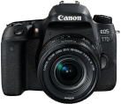 Canon EOS 77D + EF-S 18-55 mm IS STM - Spiegelreflexkamera - 24.2 MP - Schwarz