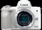 Canon EOS M50 - Spiegellose Systemkamera (DSLM) - 24.1 Megapixel - Weiss