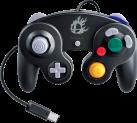 Nintendo GameCube Controller - Super Smash Bros.-Edition - für Wii U - Schwarz