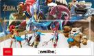 Nintendo amiibo Urbosa/Revali/Mipha/Daruk - The Legend of Zelda: Breath of the Wild Recken Set - 4 Figuren
