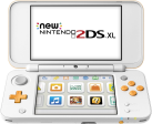 Nintendo New 2DS XL - Handheld-Spielkonsole - DE/FR - Weiss/Orange