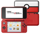 Nintendo New 2DS XL - Poké Ball Edition - Deutsch/Franzözisch - Weiss/Rot