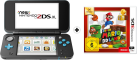New Nintendo 2DS XL + Super Mario 3D Land, 3DS - Schwarz/Türkis