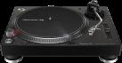Pioneer PLX-500 - Plattenspieler - Geschwindigkeit 33⅓, 45, 78 rpm - Schwarz