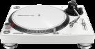 Pioneer PLX-500 - Plattenspieler - Geschwindigkeit 33⅓, 45, 78 rpm - Weiss