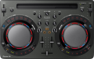 Pioneer DDJ-WEGO4-K - DJ software controller compatto - Jog Wheel: 109 mm - Nero