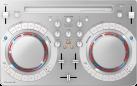 Pioneer DDJ-WEGO4-W - Kompakter DJ-Software-Controller - 2 Kanal - Weiss