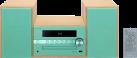 Pioneer X-CM56D - Microsistema hi-fi - DAB - verde