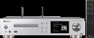 Pioneer NC-50DAB - HiFi-System - 50 Watt/Kanal - Silber