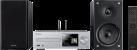 Pioneer X-HM76D - Netzwerk-Micro-System - 2 x 50 W - Silber