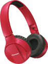 Pioneer SE-MJ553BT - Casque tour d'oreille - Bluetooth - rouge