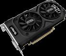 Palit GeForce GTX 1050 Ti Dual OC - Grafikkarte - 4 GB GDDR5 - Schwarz