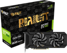 Palit GeForce® GTX 1080 Dual - Grafikkarte - 8 GB GDDR5X - Schwarz