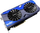 Palit GeForce GTX 1080 Ti GameRock - Grafikkarte - 11 GB GDDR5X - Schwarz/Blau