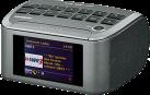 SANGEAN RCR-11 WF - Radio-réveil - DAB+ - Gris