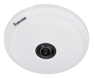 VIVOTEK FE9191 Fisheye Caméra IP - 12MP  - Blanc