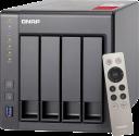 QNAP TS-451+-8G - Server NAS - 4 Alloggiamenti - Grigio