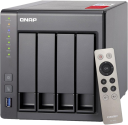QNAP TS-451+-8G - NAS-Server - 4 Schächte - Grau