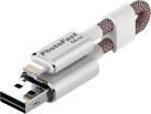 Photofast Memories Cable - 64 GB - Silber