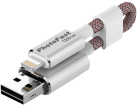 Photofast Memories Cable - 128 Go - Argent