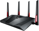 ASUS RT-AC88U - Wireless Router - Dual-Band - Schwarz