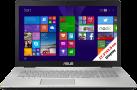 Asus N751JX-T7188T - Notebook - 256 GB SSD Festplatte  + 1 TB HDD - Silber