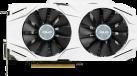 ASUS DUAL-GTX1060-6G - Scheda grafica - 6GB GDDR5 - Bianco