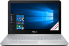 ASUS VivoBook Pro N552VX-FI375T - Notebook - Quad-HD-Display 15.6 / 39.6 cm - Grau
