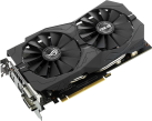 ASUS ROG STRIX-GTX1050TI-O4G-GAMING - carte graphique - 4 Go GDDR5 - Noir
