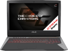 ASUS ROG G752VS-GC293T - Gaming Notebook - 17.3 / 43.9 cm - Grau/Silber