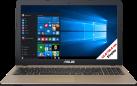 ASUS R540UA-GQ203T - Notebook - Intel® Core™ i3-6006U Processore (fino a 2.0 GHz, 3 MB Intel® Cache) - Nero/Oro