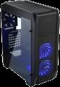 ENERMAX GraceMesh - PC-Gehäuse - Mit blauer  LED-Beleuchtung - Schwarz