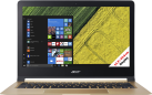 Acer Swift 7 SF713-51-M1XS - Notebook - Full HD-Display 13.3 / 33.8 cm - nero/oro